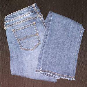 Boot cut jeans medium wash